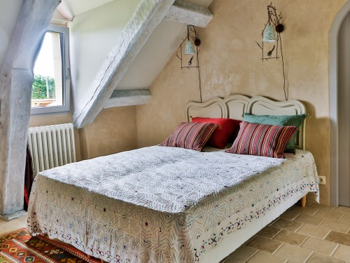 room with two beds of 80cm X 190cm or 160cm bed